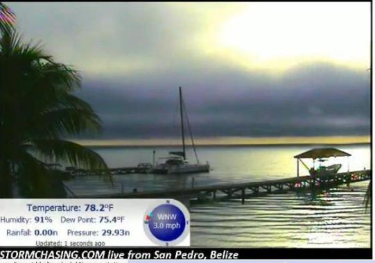 belize web cam