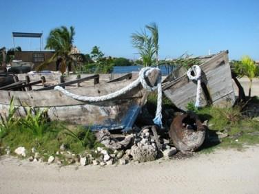 wood boats san pedro belize
