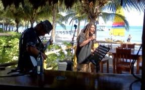 catamaran beach bar at caribbean villas hotel