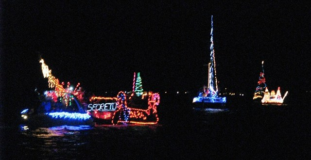 San Pedro lighted boat parade 2012
