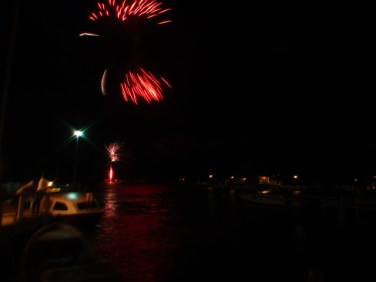 san pedro belize celebration fireworks display