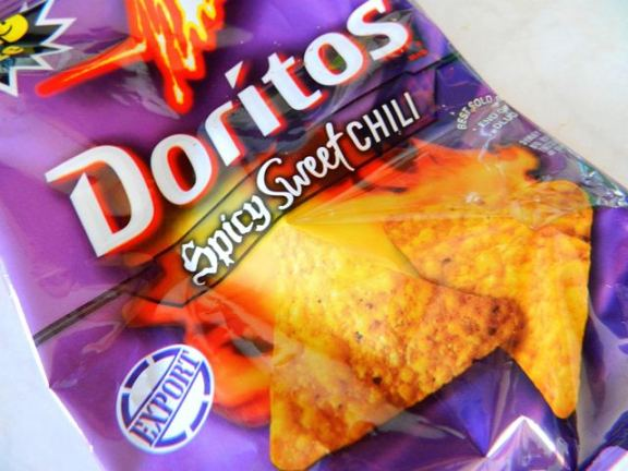 sweet and spicy doritos