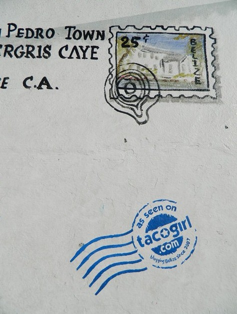personalized postage stamp