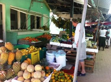 belize city market near the bus station