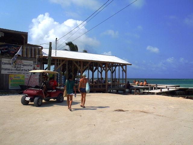 best beach bar belize