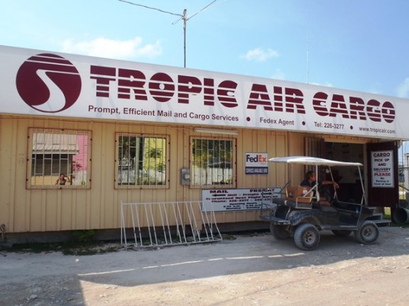 tropic cargo belize