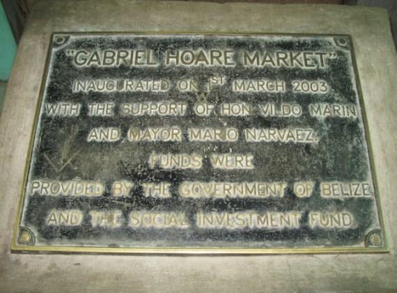 open air market corozal