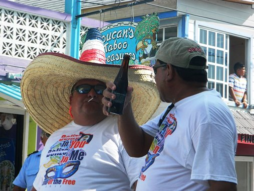 independence day parade san pedro belize