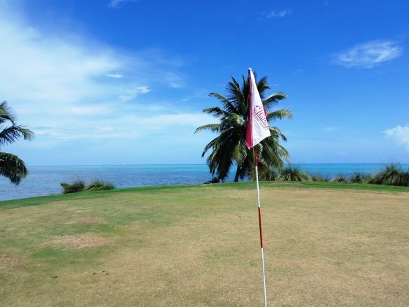 golf belize at caye chapel