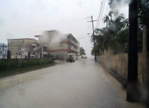 The weather in Belize in November is really really wet.