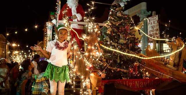 A Photographer's Story of the Annual  Love FM Christmas Parade Through San Pedro Town