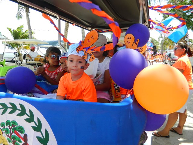 2014 independence day parade san pedro belize belize