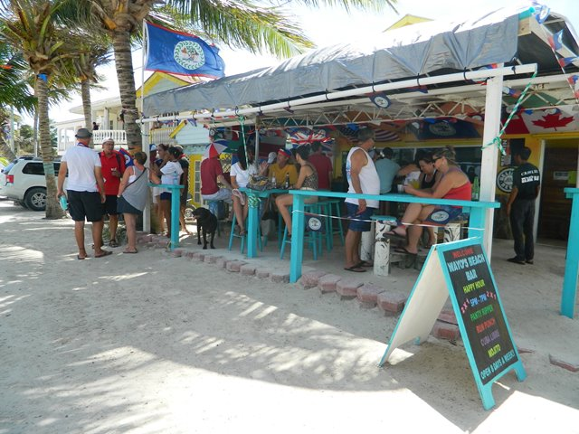 belize beach bar