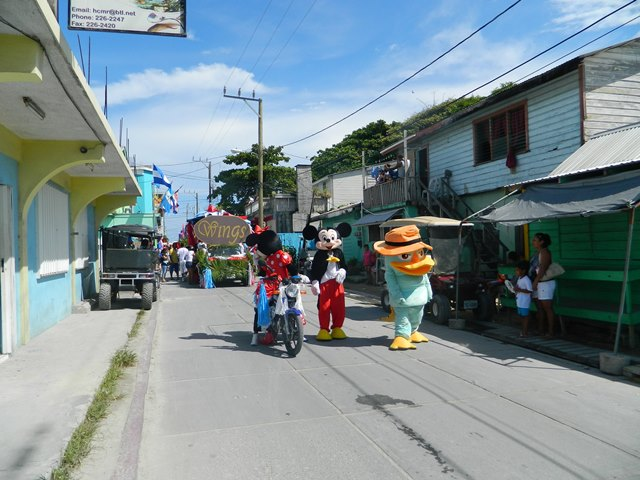 2014 independence day parade san pedro belize belize
