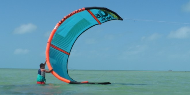 March Winds and Learning the Art of Kiteboarding Belize