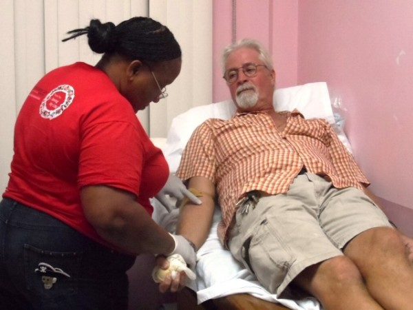 San Pedro Belize Red Cross Blood Drive
