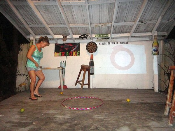 Minute to Win it for San Pedro Belize Red Cross