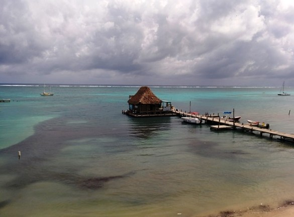 View from Mayan Princess Belize