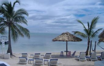 View at Squirels Nest Ambergris Caye