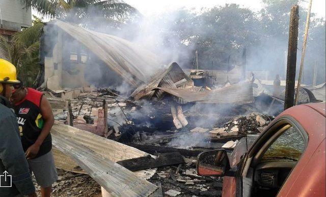 Fire San Pedro Belize
