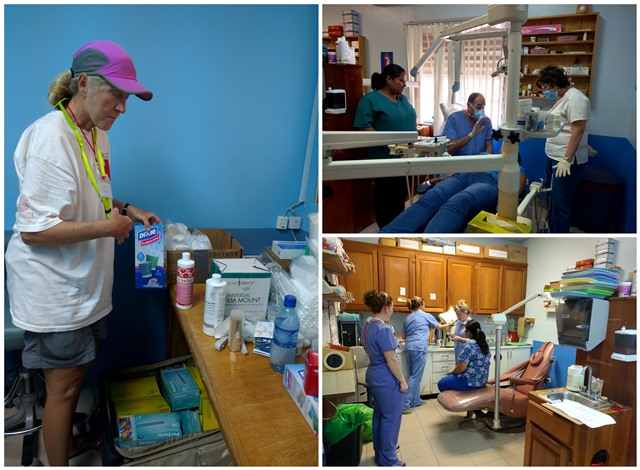 Belize Red Cross volunteer vacation group