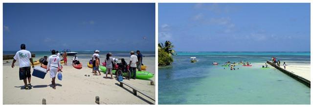 Kayak Race Belize