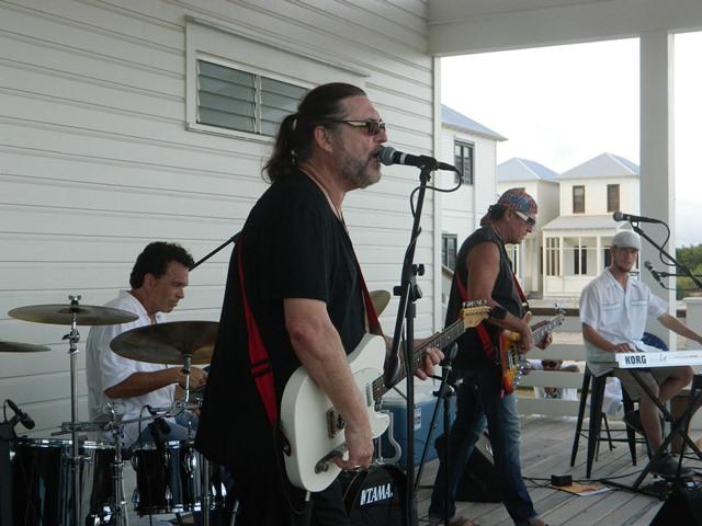 Abracadabra Playing Live at Rockin The Caye 2016