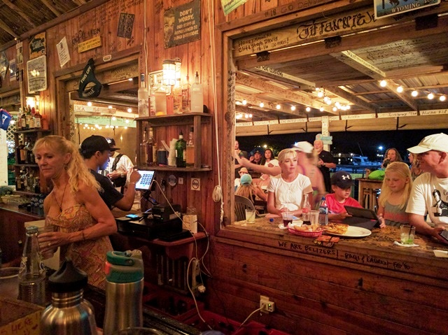 Palapa Bar owner Jodie Harnish