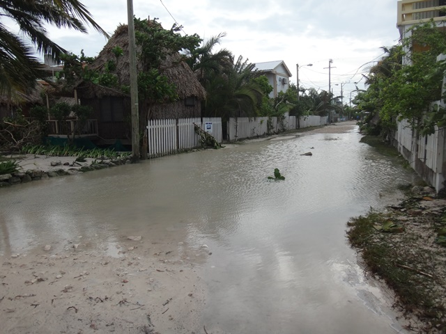 Boca Del Rio after Hurricane Earl