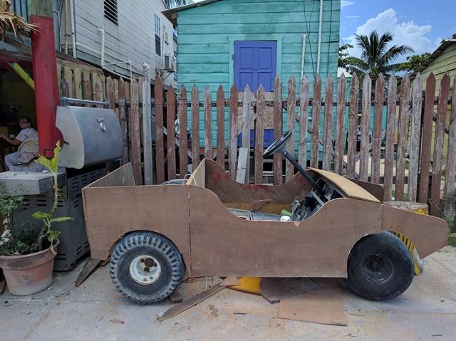 Customized golf cart