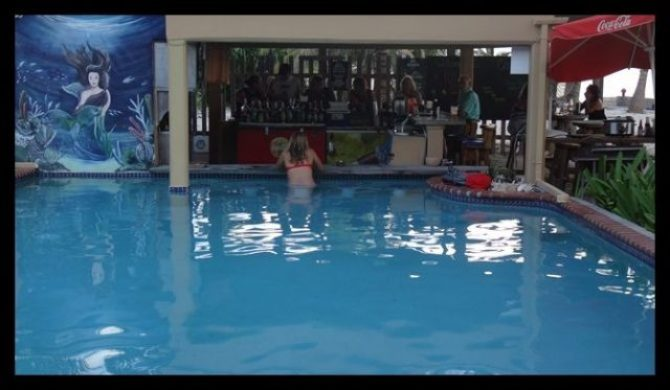Swim up pool bar Belize