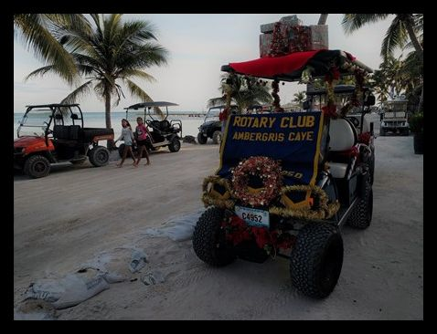 Love Fm Christmas Parade San Pedro Belize