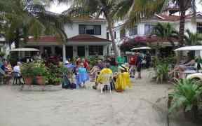 Picking Party at Paradise Villas