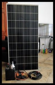 Off Grid Solar Power Demo Model for San Pedro High School