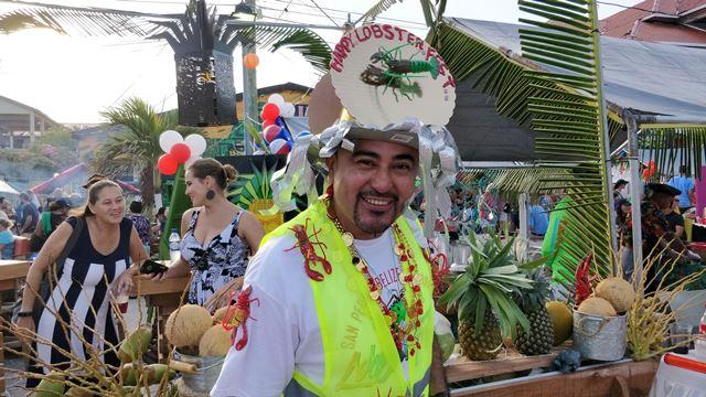 Ramon's Village Lobster Fest booth