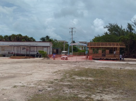 New Tropic Air Terminal on Caye Caulker