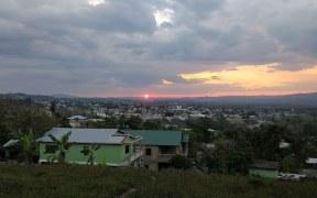 Belize Vacation Sunset