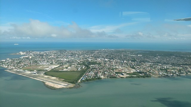 Municipal Airport Belize City Aerial