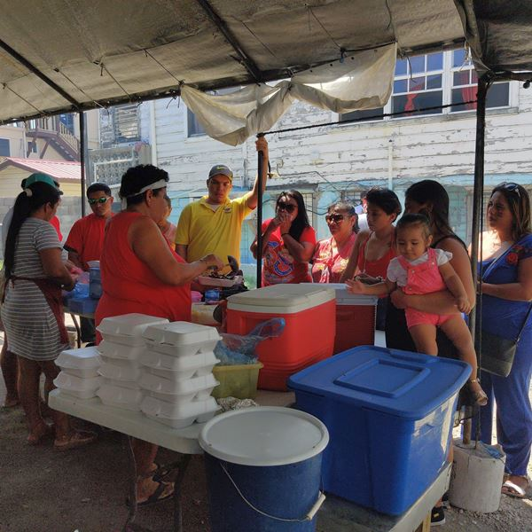 Street food San Pedro Belize Barbecue by tacogirl blog