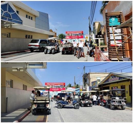 Weekday San Pedro Town Traffic
