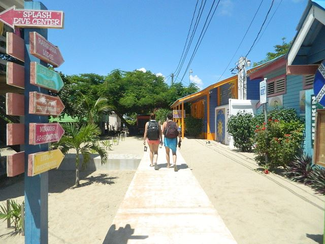 World's longest narrowest Street Placencia Belize