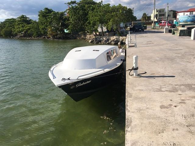 Exodus Water Taxi at Corozal dock