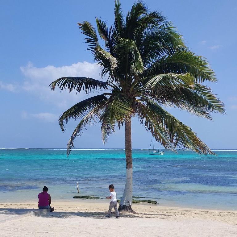 White sandy Beaches in Belize