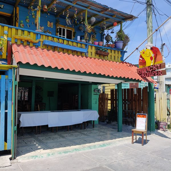 Hungry Grouper Popular Restaurant Downtown San Pedro Belize