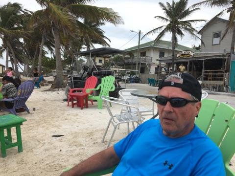 Ambergris Caye Beach bar