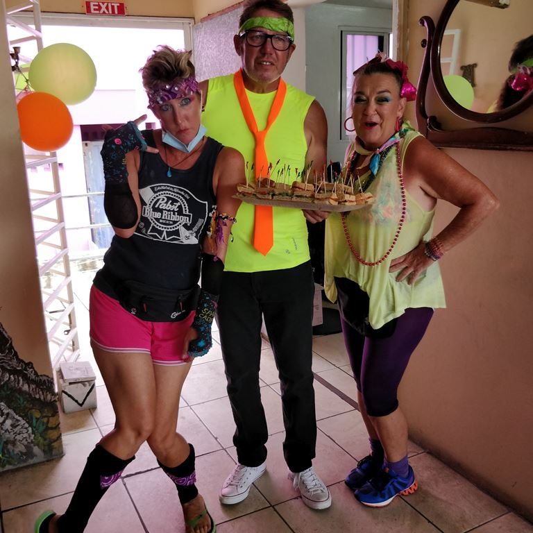 Saga Humane Society Fundraiser Iguana Juan's Restaurant San Pedro Belize