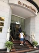 ハノイでの商談会場のSUNWAY HOTEL