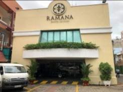 ホーチミンシティーでの商談会場のRAMANA HOTEL