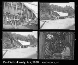 Paul Satko Family, Ark, 1938