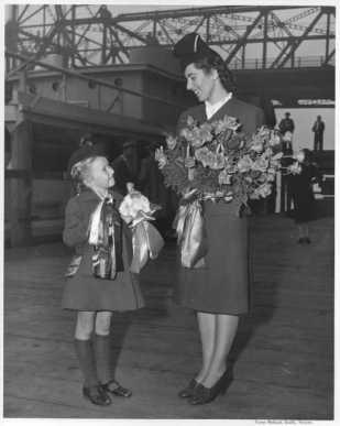 1944 wartime christening